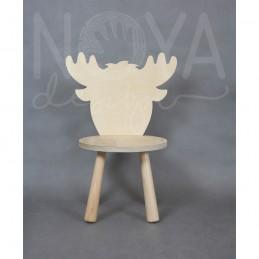 Krzesełko łoś MARIAN sklejka