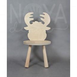 Krzesełko łoś LEOŚ sklejka
