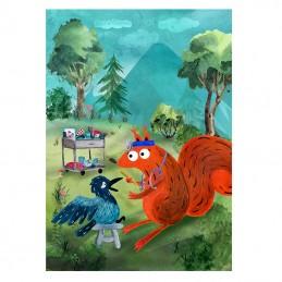 Obrazek Wiewiórka Kasia...
