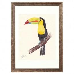 Obrazek z ptaszkiem TUKAN