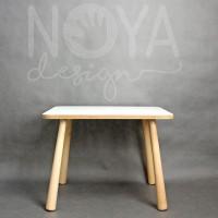 Stół biały i krzesła do niego