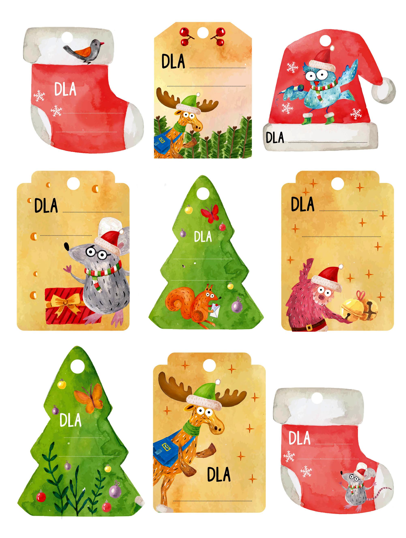 Karteczki na prezenty